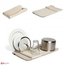 Сушилник за съдове със стойка, 33х51см, UMBRA UDRY mini, цвят крем