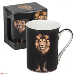 Порцеланова Чаша за кафе и чай, 300 мл, Lancaster - Лъв