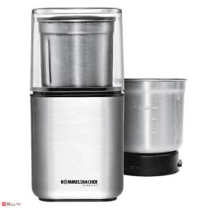 Електрическа мелничка за кафе и подправки EGK200, ROMMELSBACHER